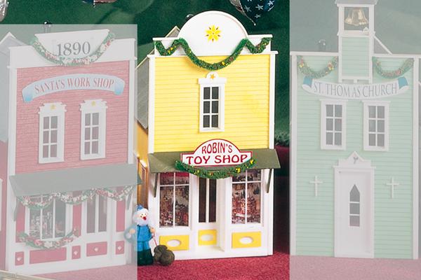 62201 Robins Toy Shop, Building Kit (G-Scale)