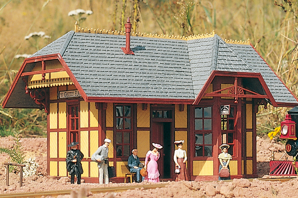 62209 Grizzly Flats Station, Building Kit (G-Scale)