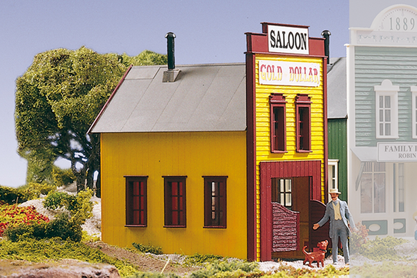 62218 Saloon, Building Kit (G-Scale)