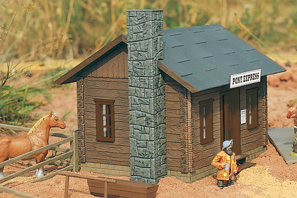 62224 Pony Express Cabin, Building Kit (G-Scale)