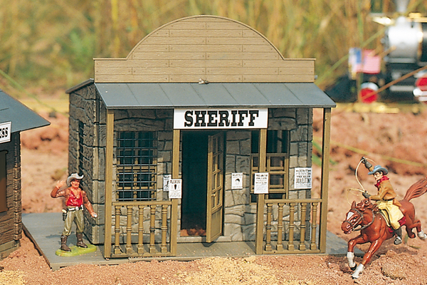 62225 City Sheriff, Building Kit (G-Scale)