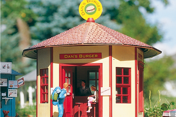 62227 Dans Burger, Building Kit (G-Scale)