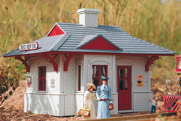 62228 Red River Station, Building Kit (G-Scale)