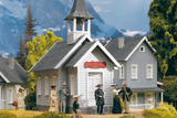 62229 Country Church, Building Kit (G-Scale)