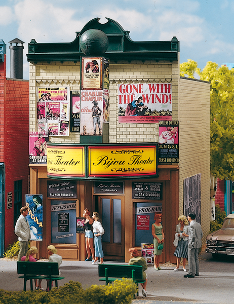 62233 Bijou Theatre, Building Kit (G-Scale)