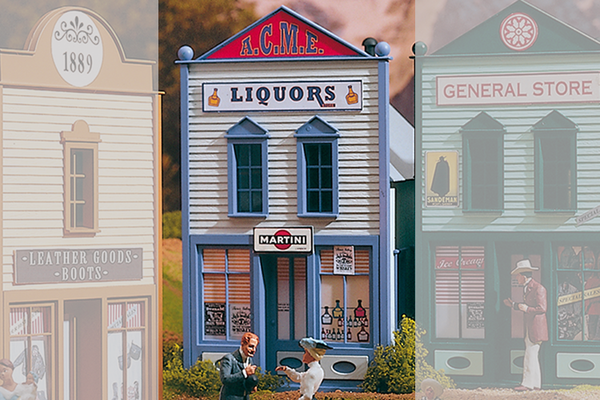 62235 ACME Liqour Store, Building Kit (G-Scale)