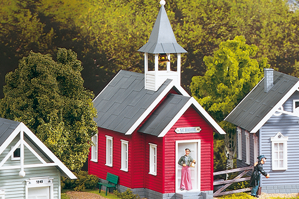 62243 Little Red School House, Building Kit (G-Scale)