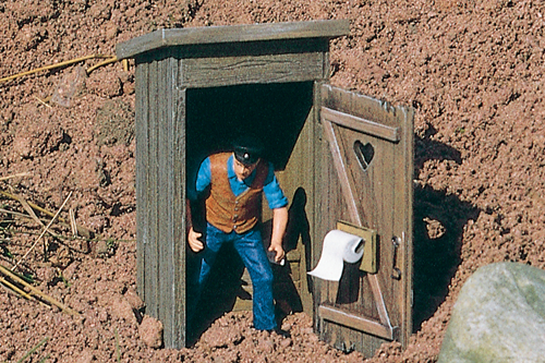 62246 Outhouse, Building Kit (G-Scale)