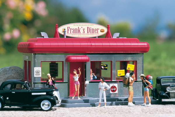 62250 Downtown Diner, Building Kit (G-Scale)