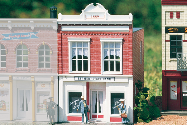 62257 Farmers State Bank, Building Kit (G-Scale)