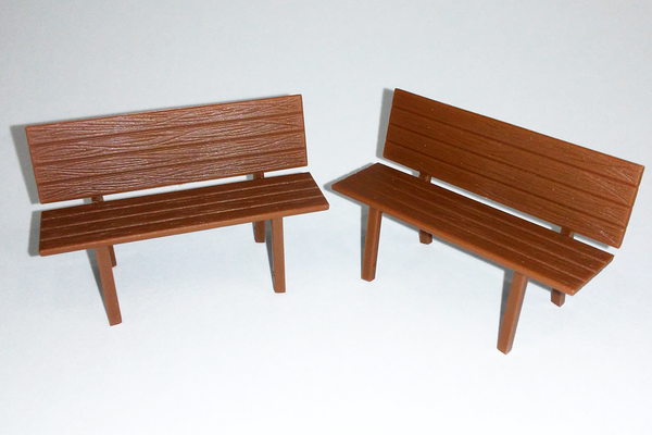 62285 Park Benches, 5 pcs (G-Scale)