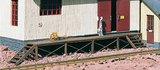 62287 Loading Dock for Goods Sheds (G-Scale)