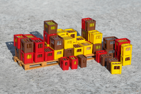 62294 Soft Drink Crates (G-Scale)