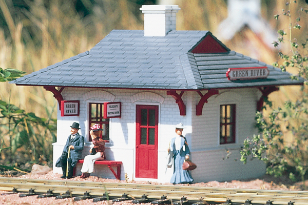 62700 Green River Station Built-Up Building (G-Scale)