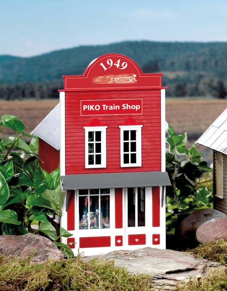 62705 PIKO Train Shop Built-Up Building (G-Scale)