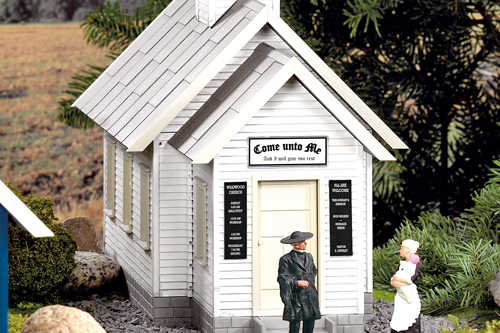 62706 Wildwood Church Built-Up Building (G-Scale)