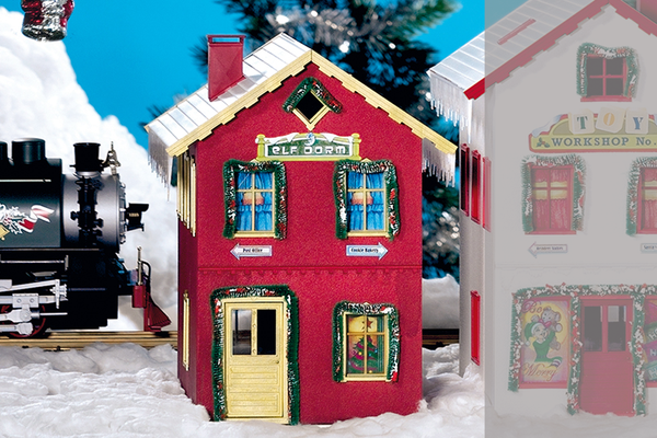 62711 North Pole Elf Dorm Built-Up Building (G-Scale)