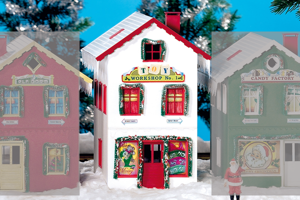 62712 North Pole Toy Workshop #1 Built-Up Building (G-Scale)