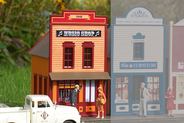 62721 Qwik-Kit Music Shop Building (G-Scale)