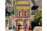 62726 River City Buffalo Bill's Barber Shop Built-Up Building (G-Scale)