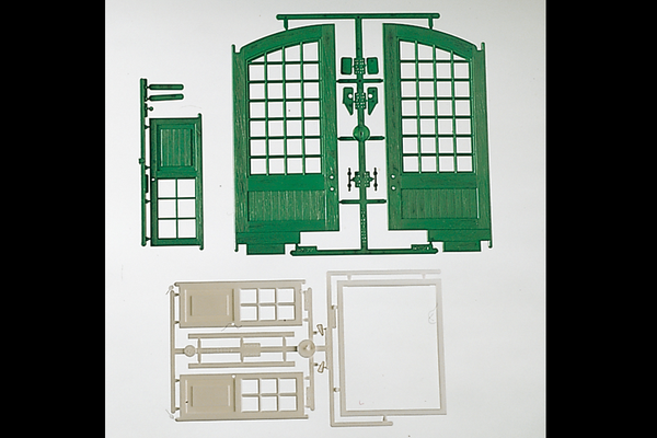 62800 Components: Doors (G-Scale)