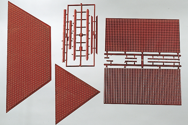 62803 Components: Tiled Roofs (G-Scale)
