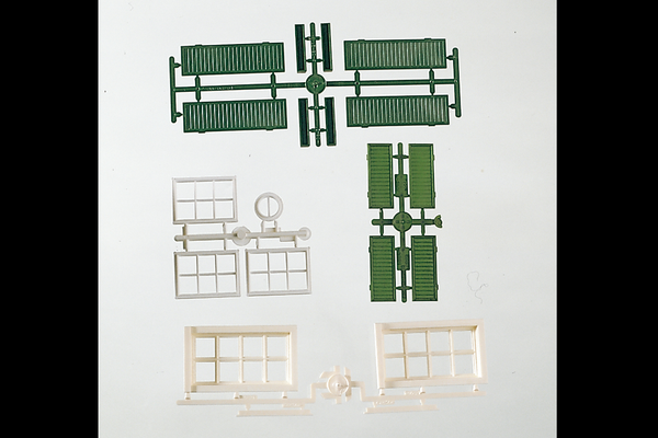 62805 Components: Windows & Shutters (G-Scale)