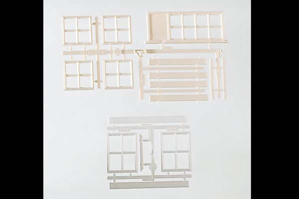62806 Components: Windows & Doors (G-Scale)