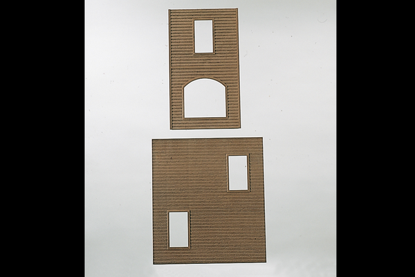 62810 Components: Wooden Walls (G-Scale)
