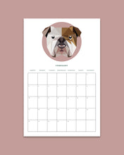 Load image into Gallery viewer, Digital 2019 Dog Calendar