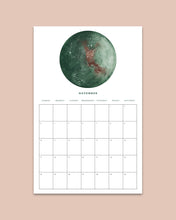 Load image into Gallery viewer, Digital 2019 Moon Calendar