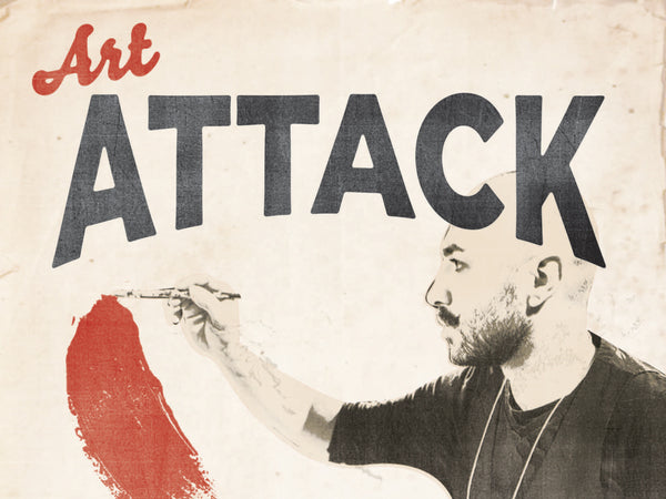 Art Attack Event Poster