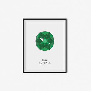 Monthly Birthstone Prints