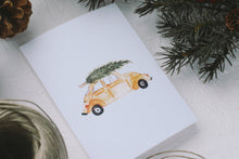 Load image into Gallery viewer, Christmas Tree Car Card