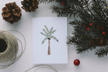 Load image into Gallery viewer, Christmas Palm Tree Card