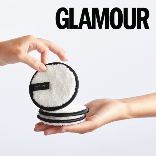 Glamour names Face Halo as one of their fav sustainable swaps in your beauty routine