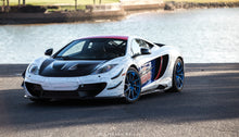 McLaren MP4-12C Carbon Fiber Louvered Front Fenders
