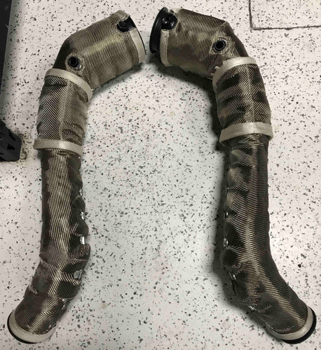 McLaren 12C/650S/675LT/570S/570GT Downpipes with Cats