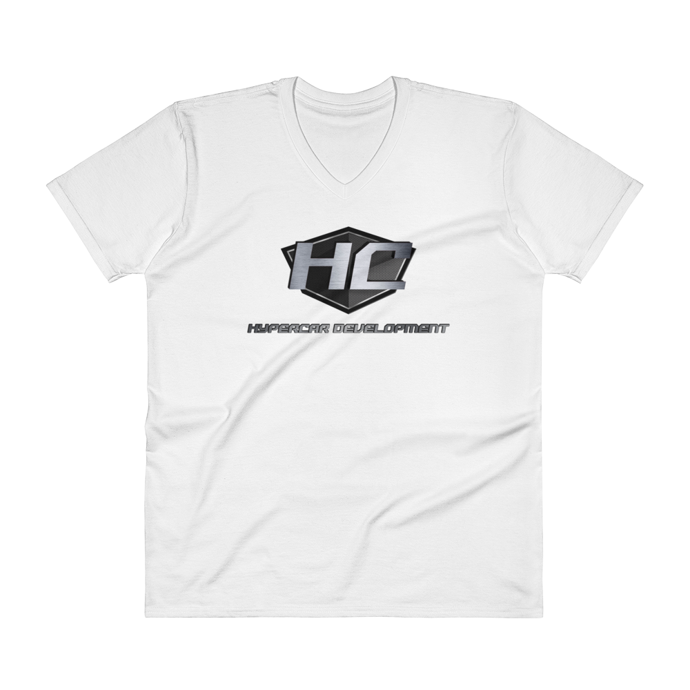 HyperCar Development V-Neck T-Shirt