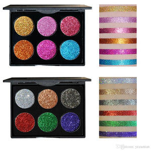 Shiny Diamond Glitter Sequin powder High quality Eye Shadow