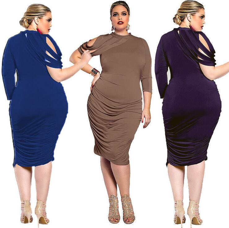 Women Plus size Sexy Dress