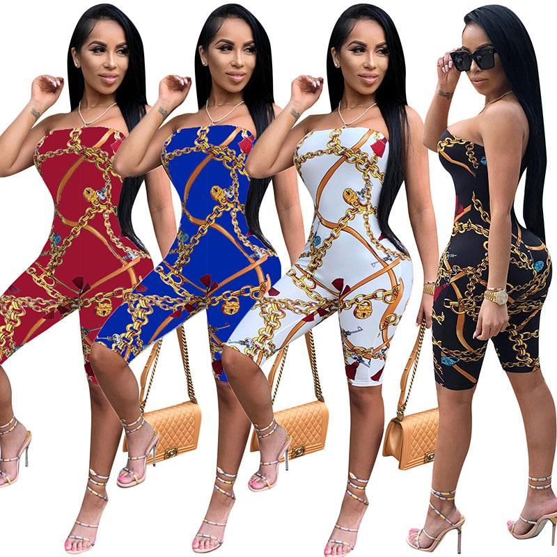 Summer Style Off Shoulder Fashion Bodycon Jumpsuit