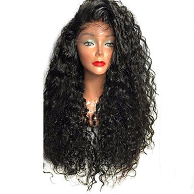 Top Quality High Density Natural Heat Resistant Synthetic Hair Lace Front Wigs