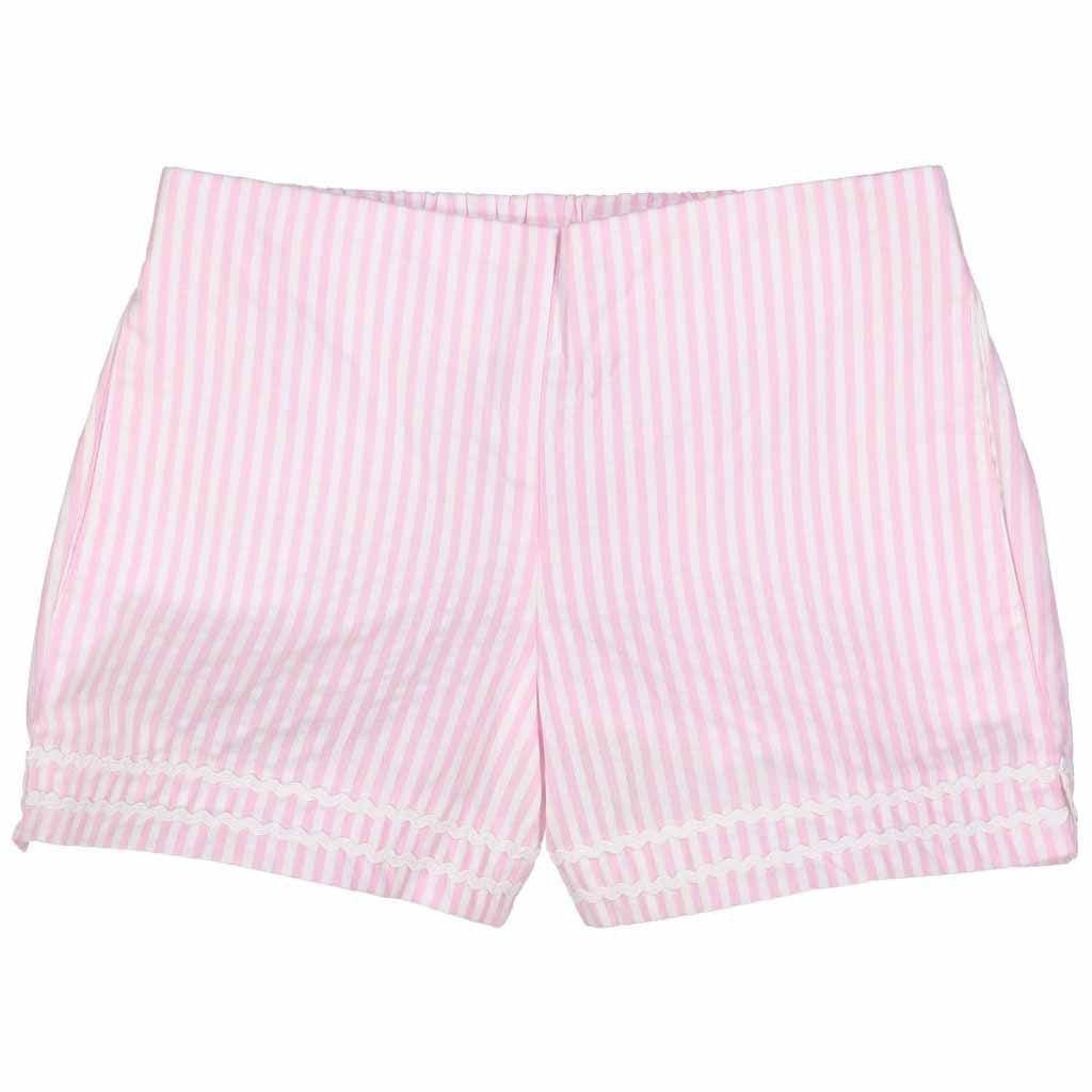 Pink & White Harper Short