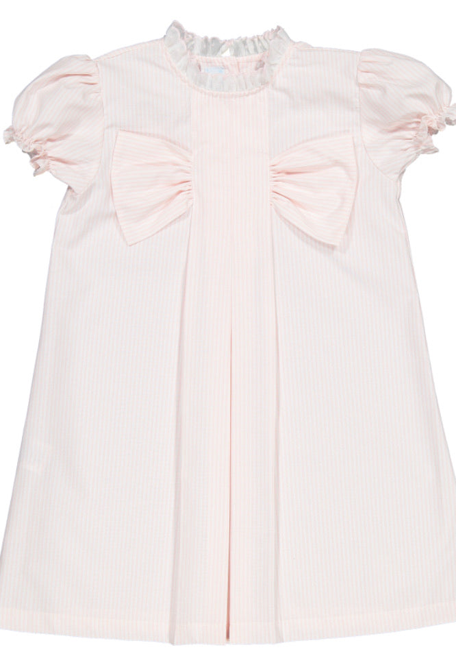 Amalia Pink Bow Lounge Dress