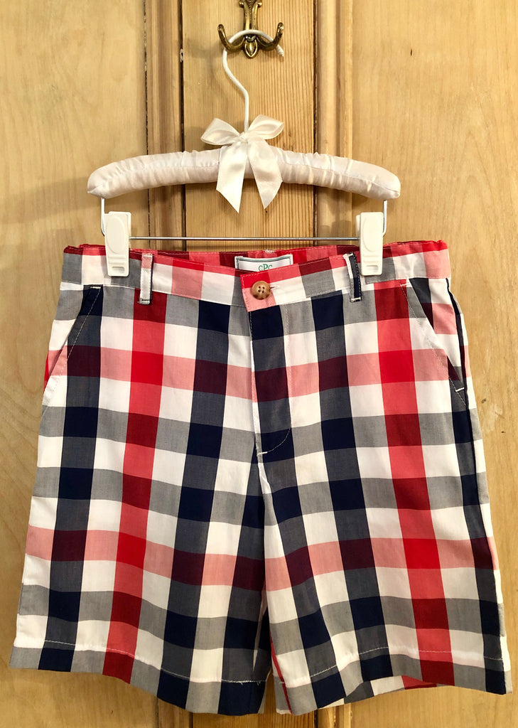 Buffalo Check Hudson Short