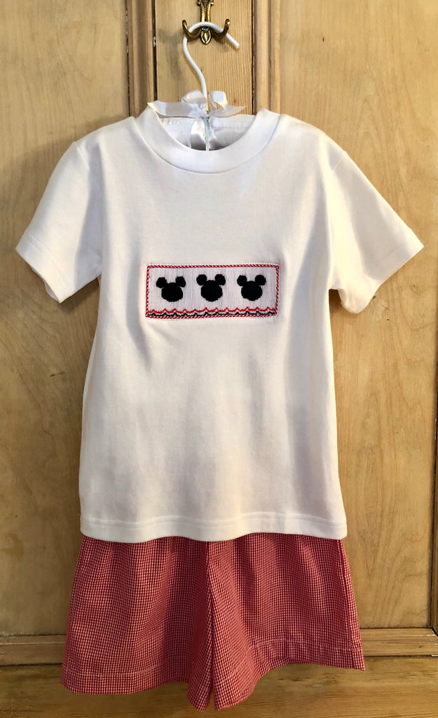 Boys Mickey Short Set