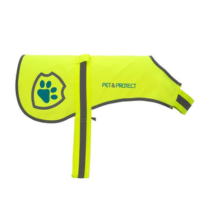 Reflective Dog Safety Vests – Yellow