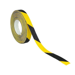 "Anti-Slip Caution Tape – Yellow/Black 2"" x 60'"