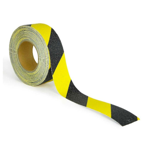 Anti-Slip Caution Tape – Yellow/Black 2